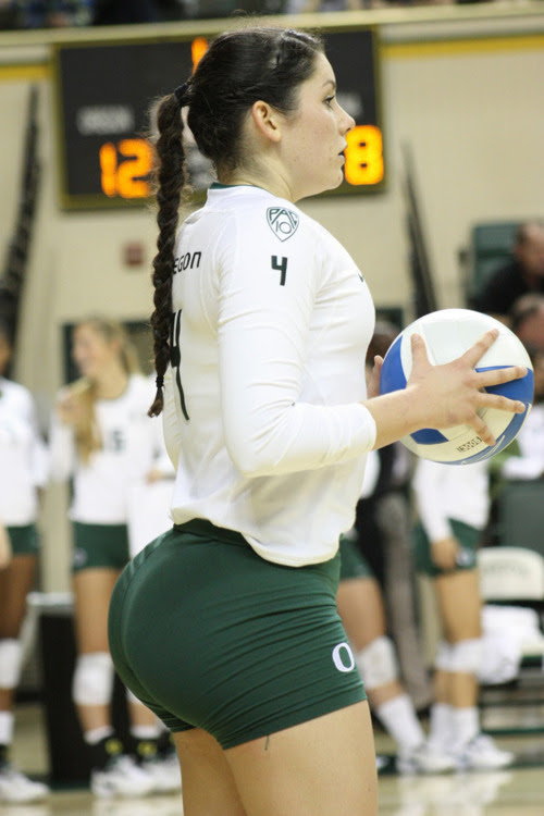 volleyball player with huge butt