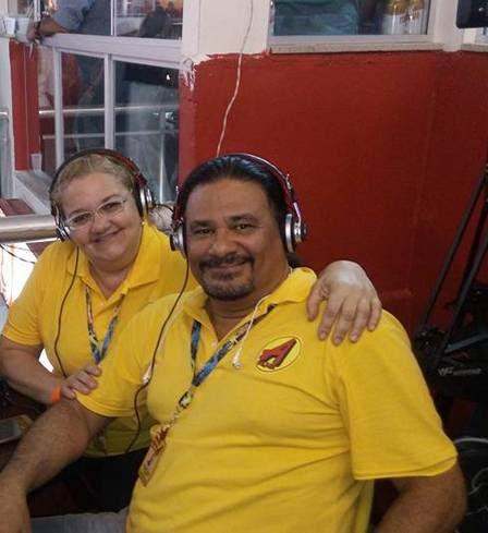 Liza participava da cobertura do carnaval na Sapucaí, quando foi atropelada