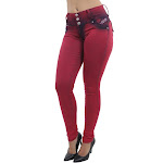 Women's Plus Size Colombian Design, Butt Lift, Push Up, Mid Waist, Skinny Jeans
