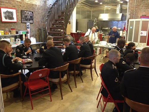 New York firefighters host Soldiers for Army Birthday lunch by The U.S. Army