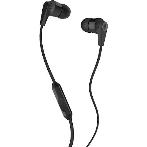 Skullcandy - Ink'd 2 Wired Earbud Headphones - Black