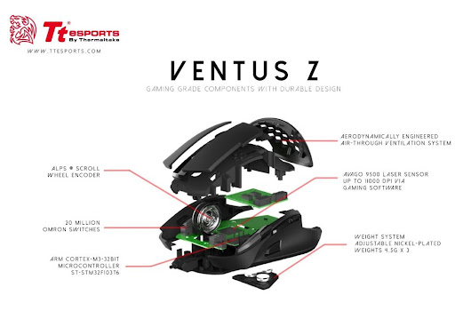 Ventus Z Gaming Mouse Here in India | Techniblogic