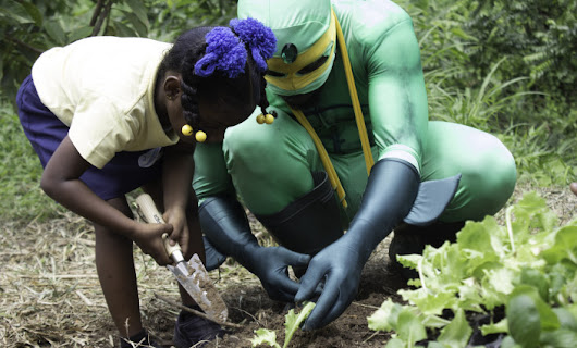 Engaging youth to protect food security