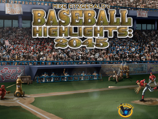 Baseball Highlights 2045 - New Card Game by Mike Fitzgerald