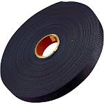 "Bulk Strap Bulk Webbing, Black, 300' x 1"", 200 lb"