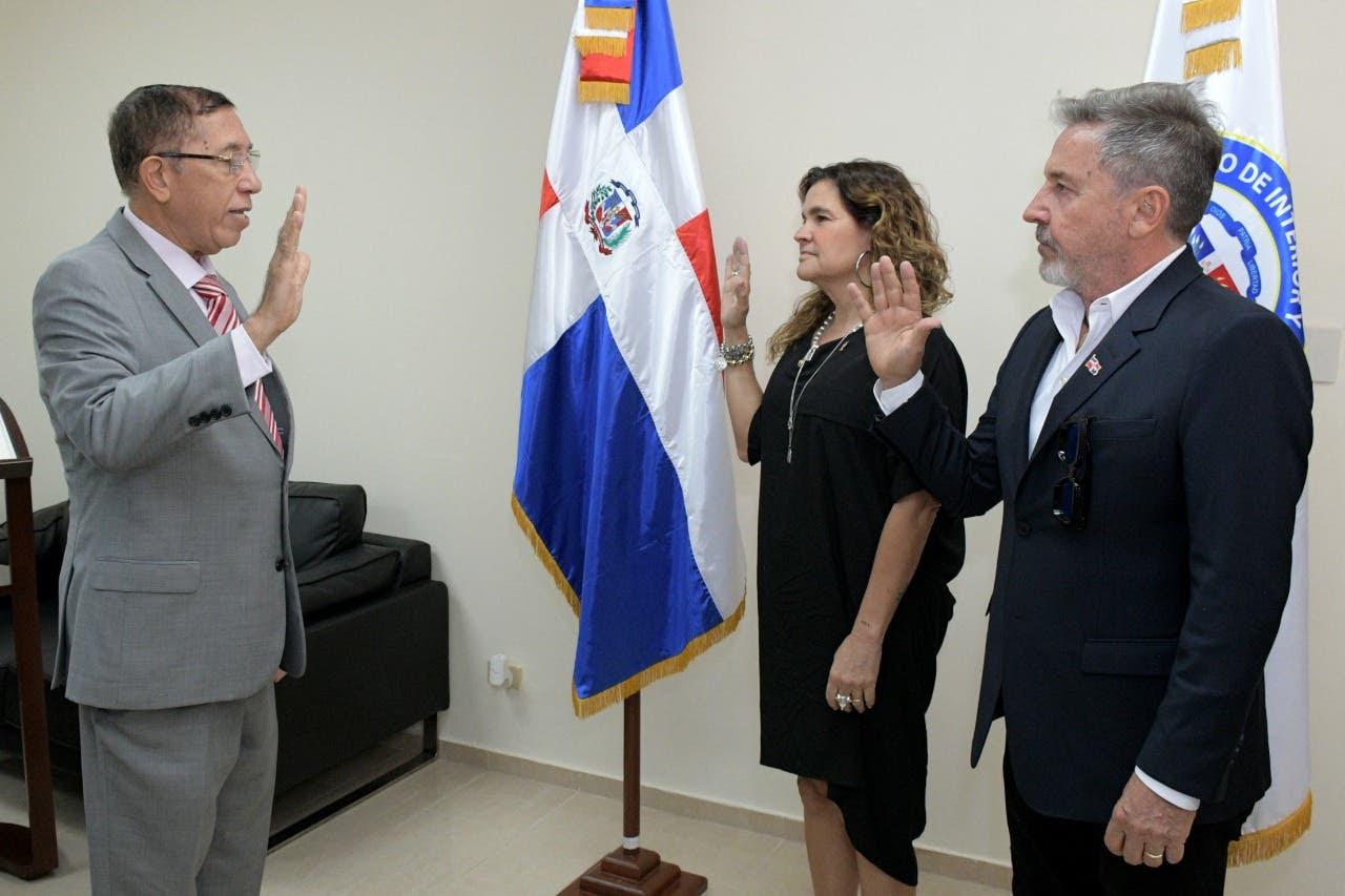 Acto de juramentación del artista Ricardo Montaner y la señora Marlene Salomé Rodríguez Miranda II