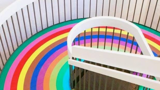 Stairway to heaven: Cool rainbow stairs from around the world |