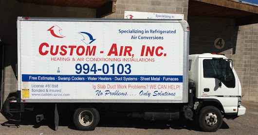 Refrigerated air conversions by Custom-Air, Inc.