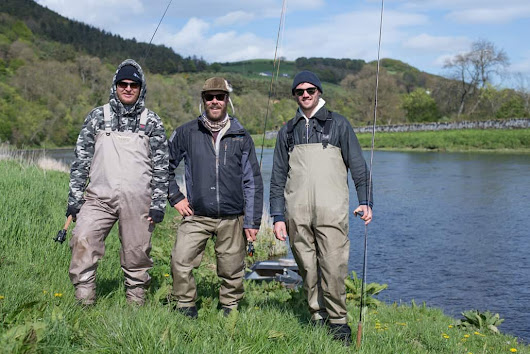 Trout Fishing Near Edinburgh in Beautiful Countryside