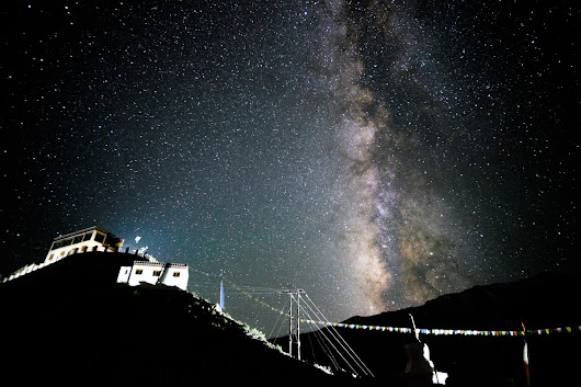 Best Places for Stargazing and Meteor Showers in India.