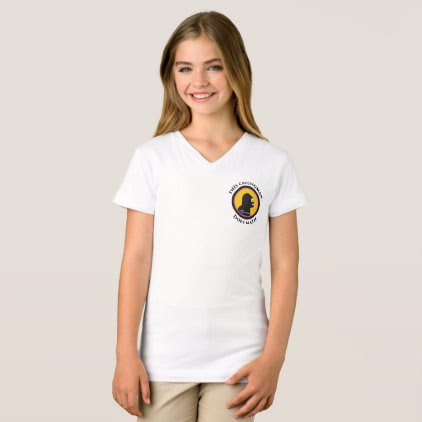 Jersey V-Neck T-Shirt: Math Smart Cavewoman T-Shirt