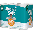 Angel Soft Toilet Paper, Mega Rolls - 18 count