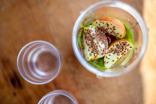 Brilliant Health Booster - Apple, Lime and Linseed Smoothie
