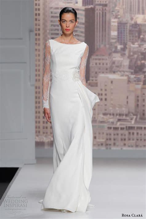 Rosa Clará 2015 Wedding Dresses   Wedding Inspirasi