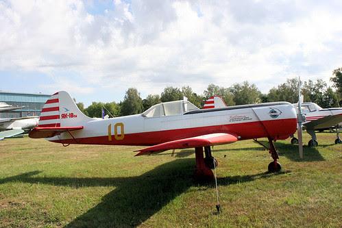 Yakovlev Yak-18PM 10 yellow