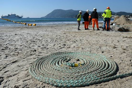 Facebook and Microsoft To Build Fiber Optic Cable Across Atlantic