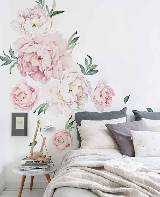 The Most Beautiful Floral Wallpaper - Dagmar's Home