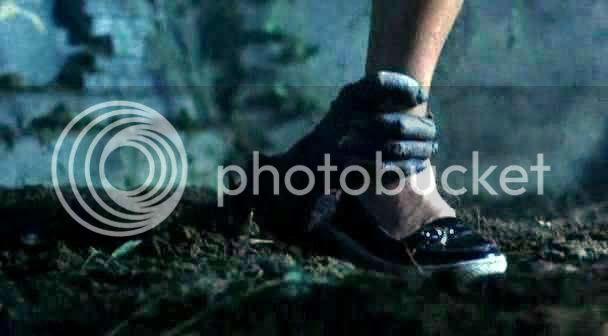 hand grabs Jill