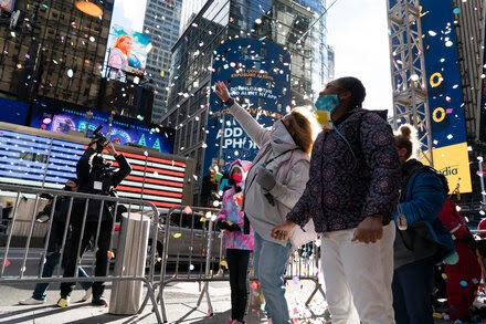 TREND ESSENCE:No Crowds, but Times Square Ball Drop Is Still Happening. Here's How.