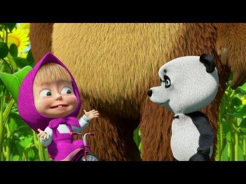 Кадр из мультфильма «Маша и Медведь : Дальний родственник (серия 17)»