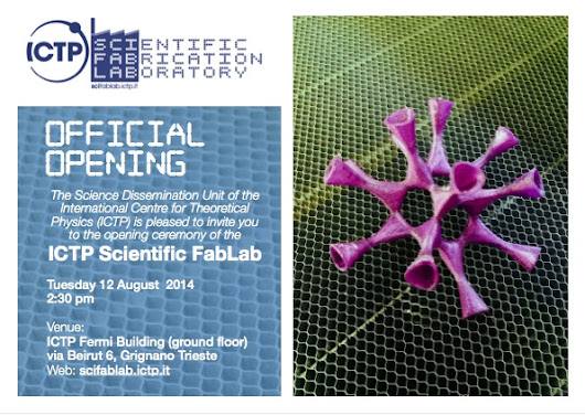 ICTP Scientific FabLab - Un FabLab a Trieste! | ToB.log