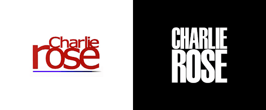 Brand New: New Logo and Identity for Charlie Rose by Pentagram