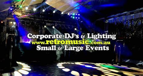 Retro Music Professional Wedding DJ MC Sydney Retro Dj