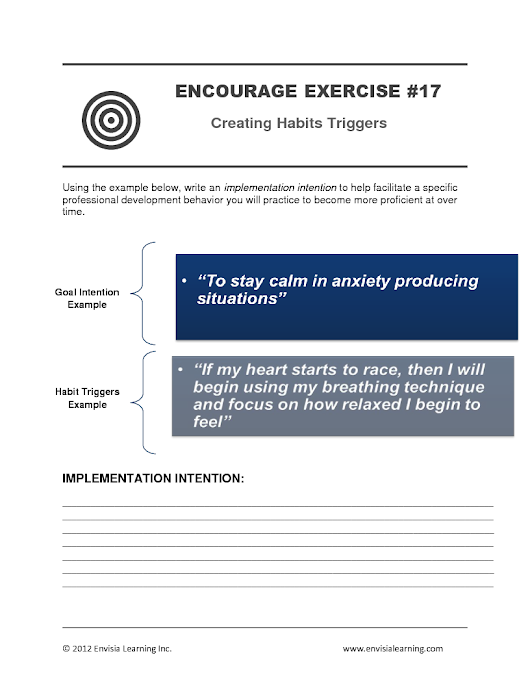 "Free Coaching Exercise: ""Creating Implementation Intentions"""