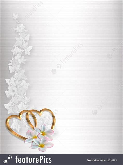 Illustration Of Wedding Invitation White Satin