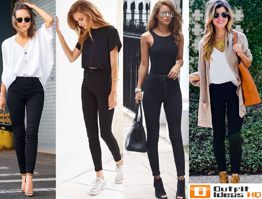 Outfit Ideas Black Jeans And Top Outfit Ideas