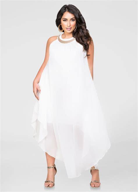 Goddess Gold Bar Maxi Dress Plus Size Dresses Ashley