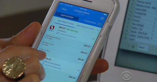 Grocery shopping apps bring new wrinkle to Thanksgiving shopping
