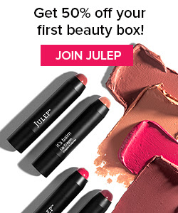 Join Julep and get 50% off your first box.