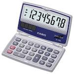 Casio Sl-100l Solar Calculator With Folding Hard Case (sl100l)