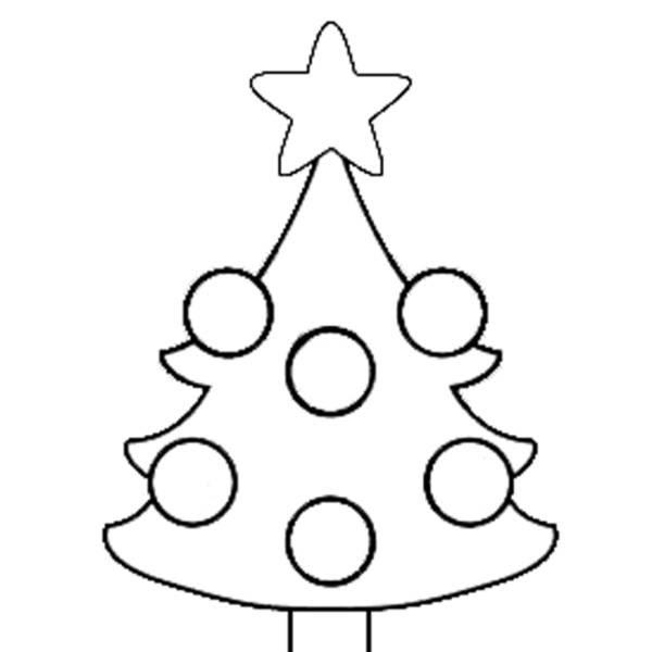 Disegni Alberi Di Natale Da Colorare Per Bambini Coloratutto Website