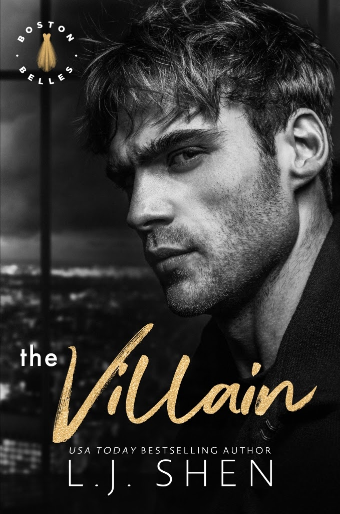 Cover Reveal: The Villain by LJ Shen