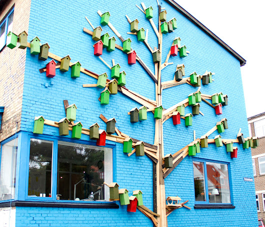 Danish Street Art Project Has Built Over 3,500 Urban Bird Houses Since 2006