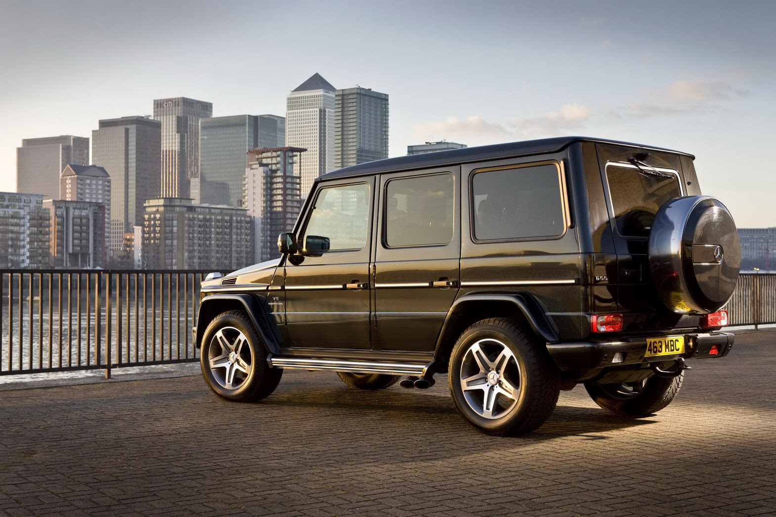 Eco-friendly Mercedes Benz G Class Edition Will Be ...