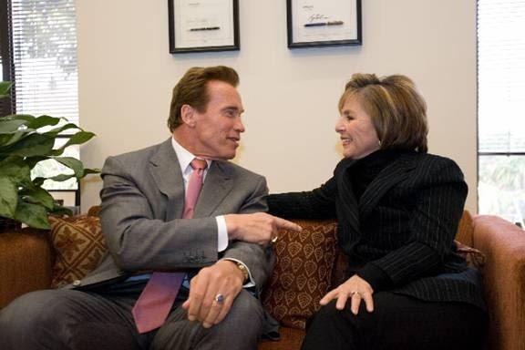 Boxer and Schwarzenegger