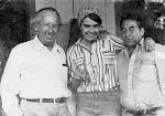 Mayra, Coronel Urtecho y Carlos Martínez Rivas
