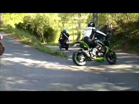Las motos rugen en honor a Juan Ogando en Barro y Moraña. Video incluido.