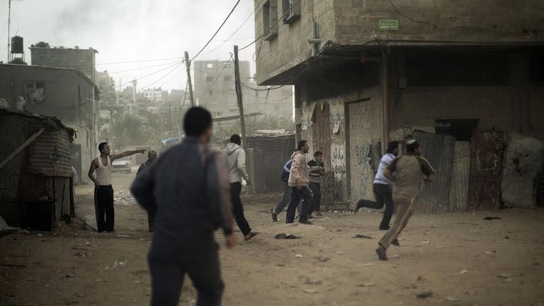 Tercer día de ofensiva militar de Israel sobre Gaza