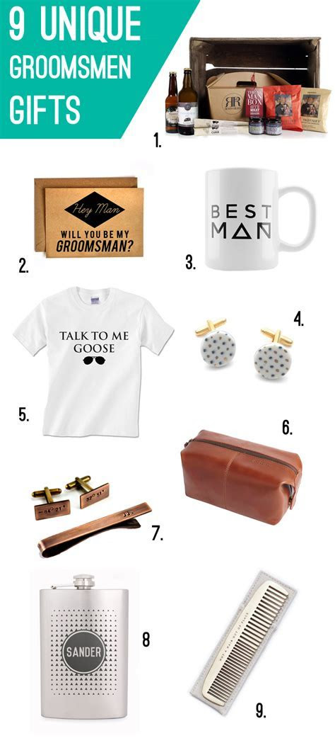 9 UNIQUE GIFTS FOR GROOMSMEN   Bespoke Bride: Wedding Blog