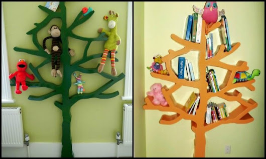 Build a tree shaped bookshelf | DIY projects for everyone!