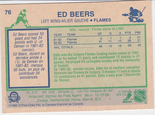 Ed Beers 83 back