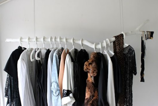 No closet, no problem - upcycled closet solutions | Upcycle That