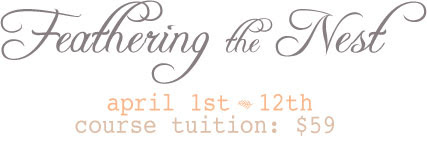 Feathering the Nest Registration