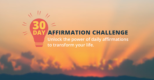 Brian Tracy's 30 Day Affirmation Challenge