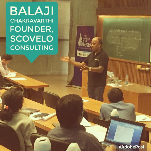 "CIIE, IIM Ahmedabad on Twitter: ""@csbalaji on #sales and #marketing strategies for #startups, on day 5 of the #ETPoI Workshop. #wegotthepower """