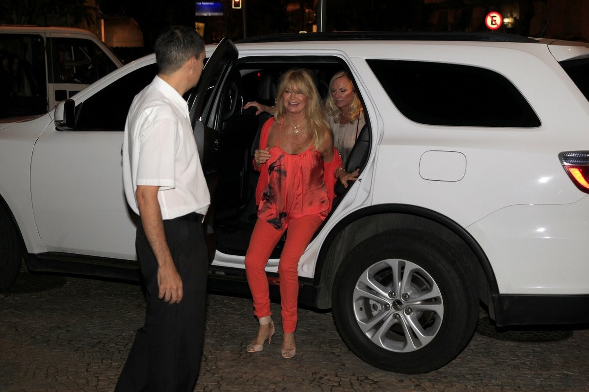 Goldie Hawn (Foto: Delson Silva/AgNews)